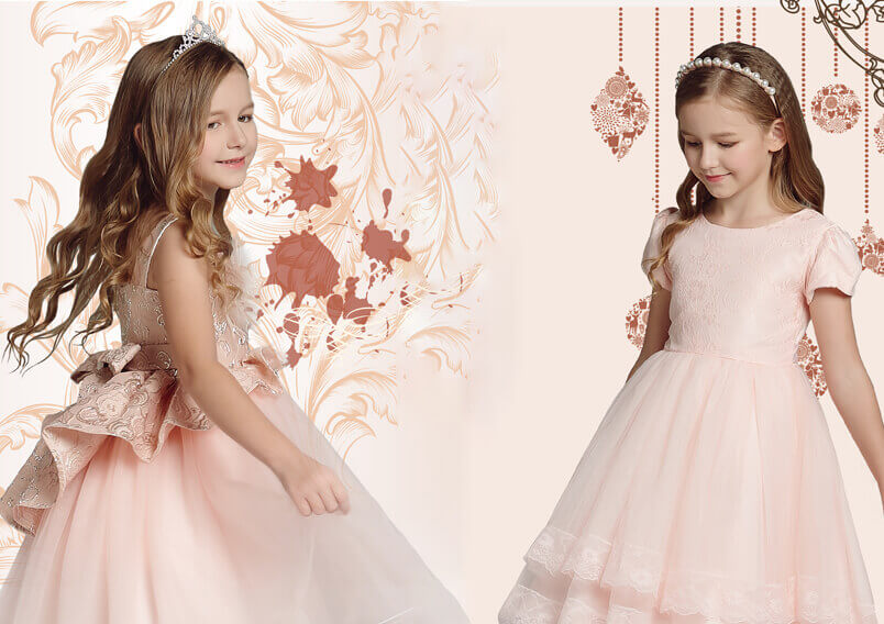 Modern Off White Toddler Flower Girl Dresses for Teens Girl