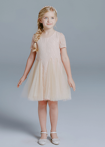 Girl garment casual dresses dress type and children age group dress