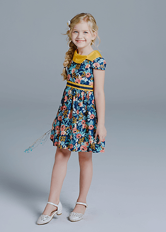 casual daily wear kids lehenga choli dress designs