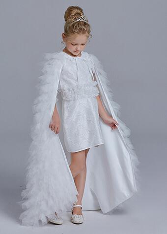 Yalindars little girls ivory flower girl dresses