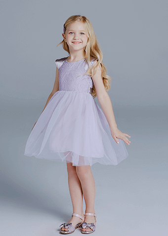 Baby Kids Clothing Dresses With Girls Purple Designs Of Frocks