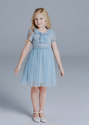teenage female clothing tulle lace girl dress for children