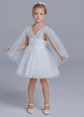 Girls frocks designs latest junior organza flower girl dress
