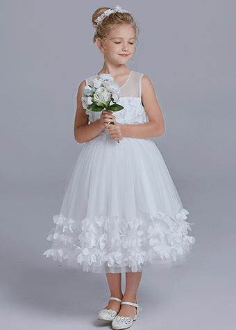 Elegant Holy White Communion Dresses