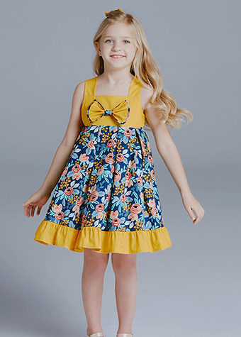 Stylish Wholesale Baby Girl Dresses Kids Clothing
