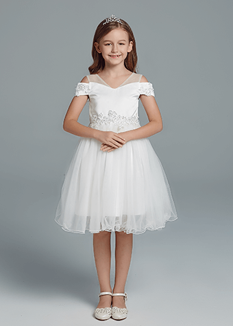 Fashion baby princess special occasion stage piano performance dresses for girls
