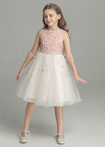 Bluk Wholesale Kids Clothing Wedding Dress High Quality Flower Girl Dress