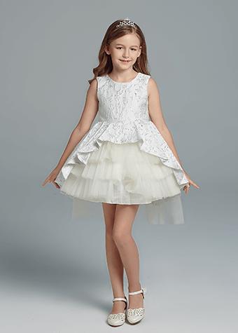 baby girl wedding dress
