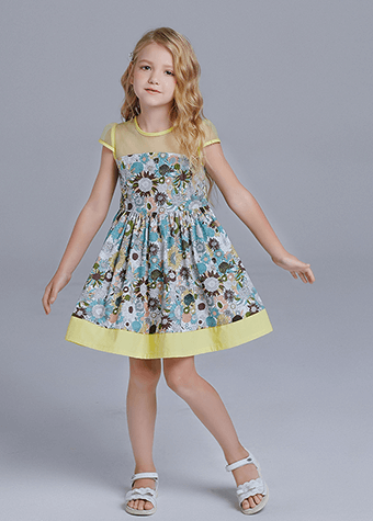 casual dresses children frocks designs for summer