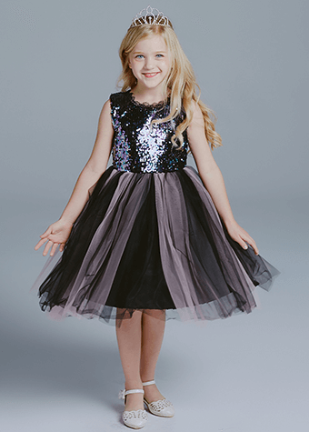 high quality fashion kids girls evening dresses