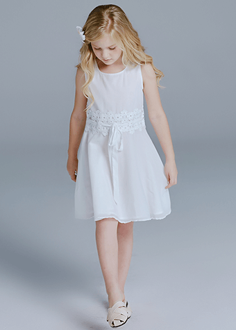 new feeling clothing white long dresses for girls