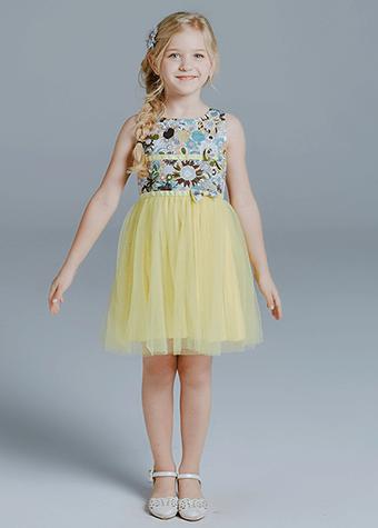 Paris frock design new collection dress kids tutu casual skirts