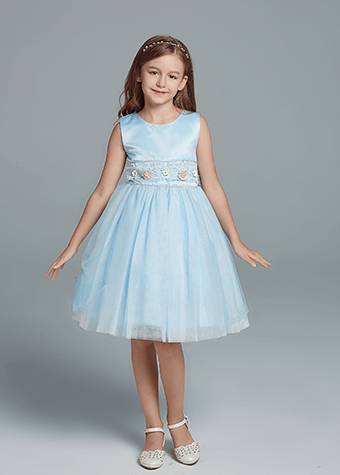 Custom design kids dress flower girl dress manufacture wholesale