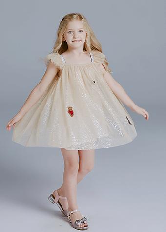 Yalindars designs tulle dress flower girl casual dress