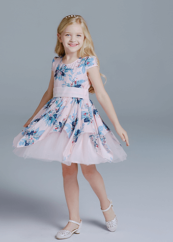 kids clothing girl dress casual frock dress design for girls