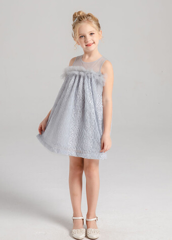 floral kids fashion summer clothing children clothes girls dresses