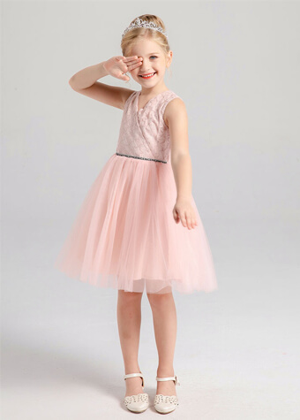 Young girl teen christmas frocks girls party dresses