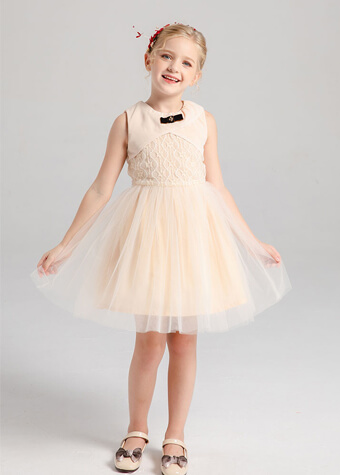 Kids Dresses Manufacturer Lace Tulle Girl Dress For 2020 Dress Collection