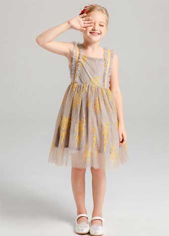 Beauty Princess Girls Frock Dress Can Make Your Logo Beauty Princess Kids Pageant