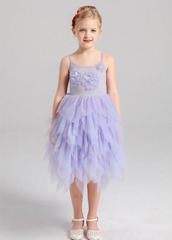 Toddlers Girls Dress Daily Wear Children Clothing Princess Flower Girl Dress